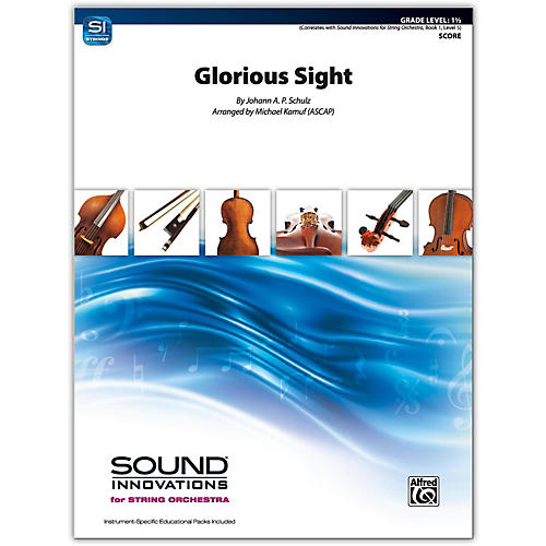 Alfred Glorious Sight Conductor Score 1.5