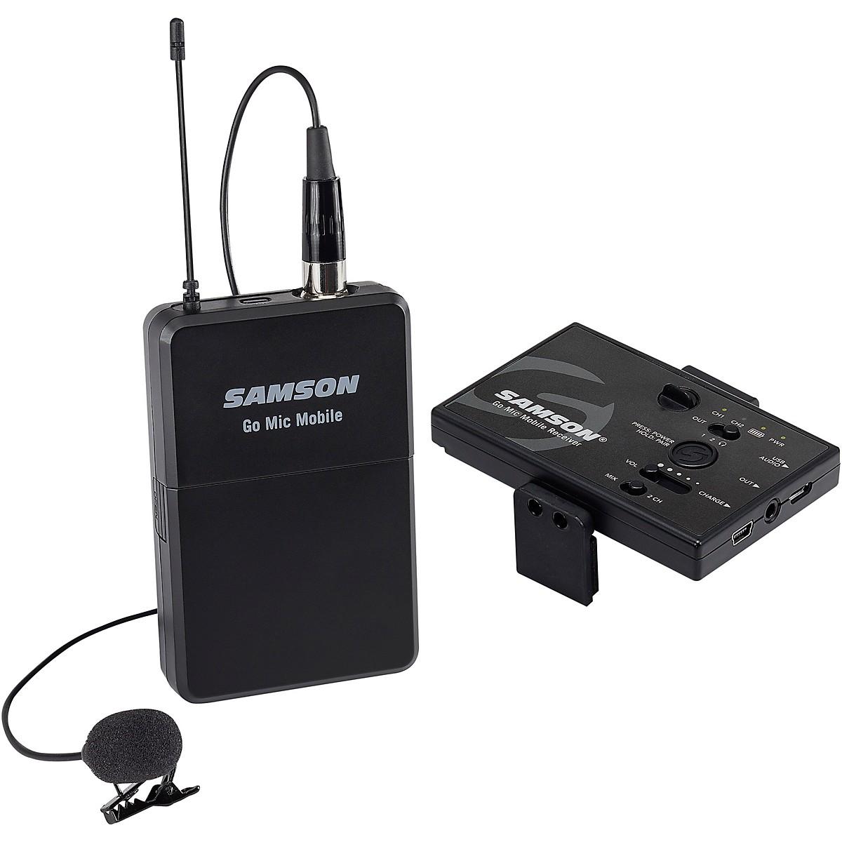 Samson Go Mic Mobile Digital Lavalier Wireless Sysytem LM8 Microphone