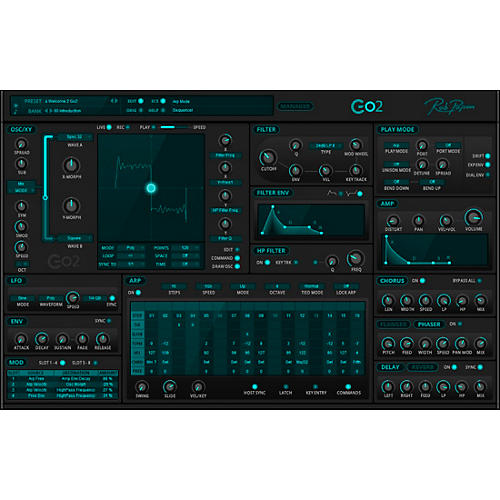 Rob Papen Go2 Virtual Synthesizer