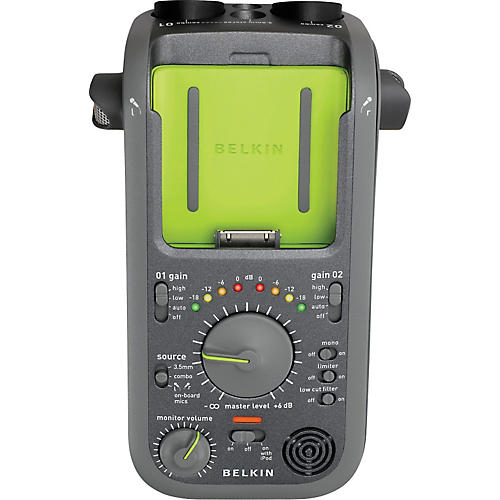 Belkin GoStudio Handheld Audio Recorder for iPod