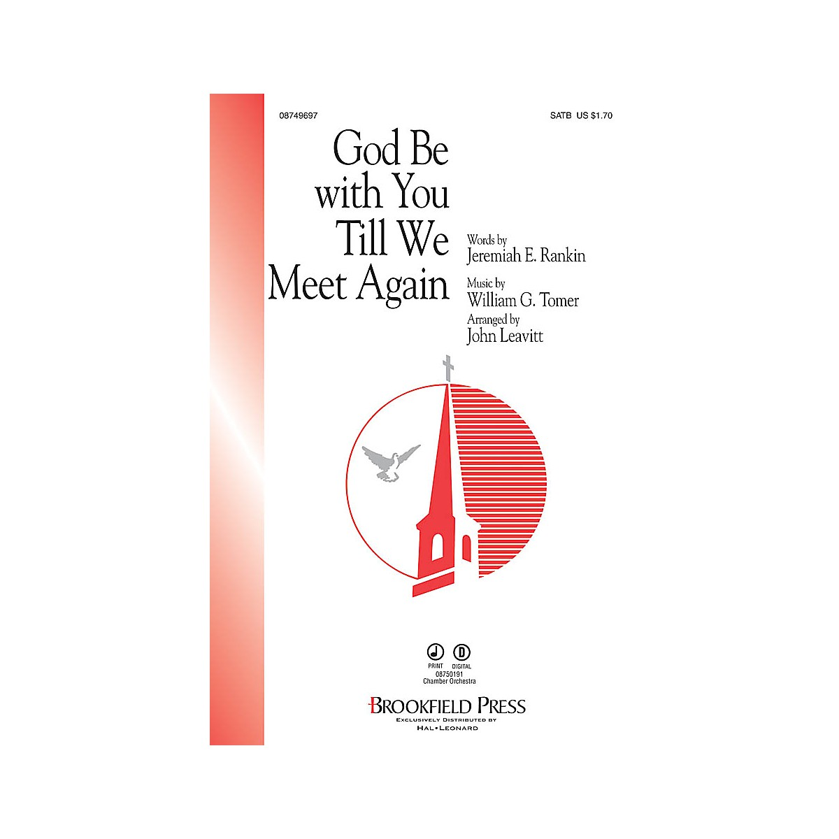 Brookfield God Be with You Till We Meet Again CHAMBER ORCHESTRA ACCOMP Arranged by John Leavitt