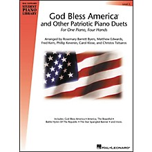 Hal Leonard God Bless America And Other Patriotic Piano Duets Level 5 Hal Leonard Student Piano Library
