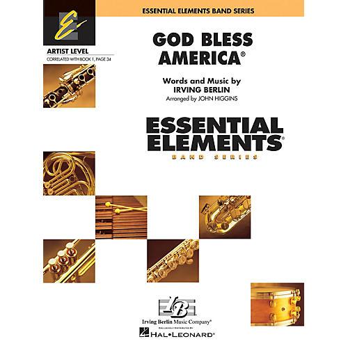 Hal Leonard God Bless America Concert Band Level 1 Arranged by John Higgins
