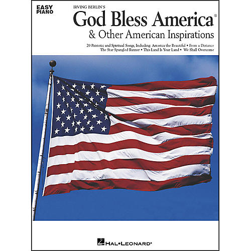 Hal Leonard God Bless America & Other American Inspirations For Easy Piano