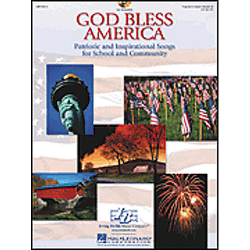 Hal Leonard God Bless America-Patriotic and Inspirational Songs for School CD