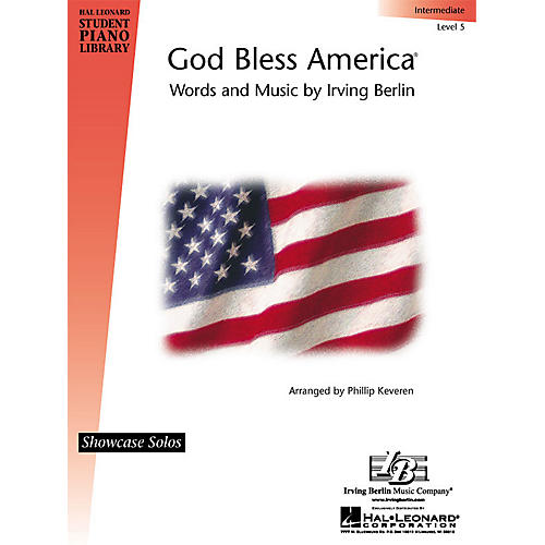 Hal Leonard God Bless America® Piano Library Series by Irving Berlin (Level Inter)