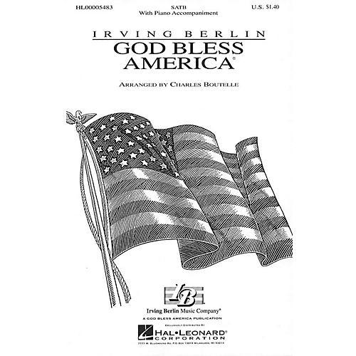 Hal Leonard God Bless America® (SATB) SATB arranged by Charles Boutelle