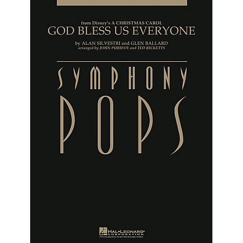 Hal Leonard God Bless Us Everyone (from A Christmas Carol) Composed by Alan Silvestri