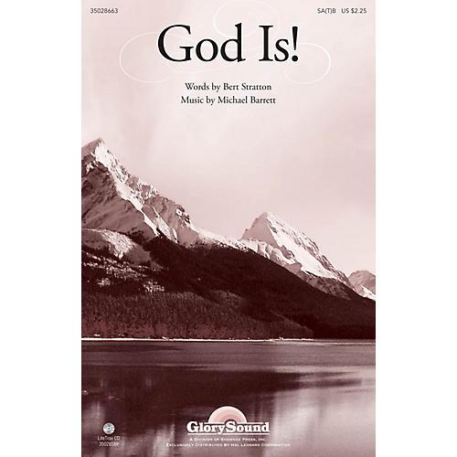 Shawnee Press God Is! SA(T)B composed by Michael Barrett