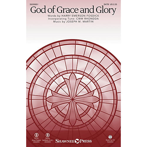 Shawnee Press God of Grace and Glory Studiotrax CD Composed by Joseph M. Martin