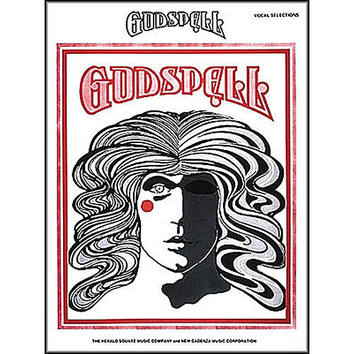 Hal Leonard Godspell Vocal Selection arranged for piano, vocal, and guitar (P/V/G)