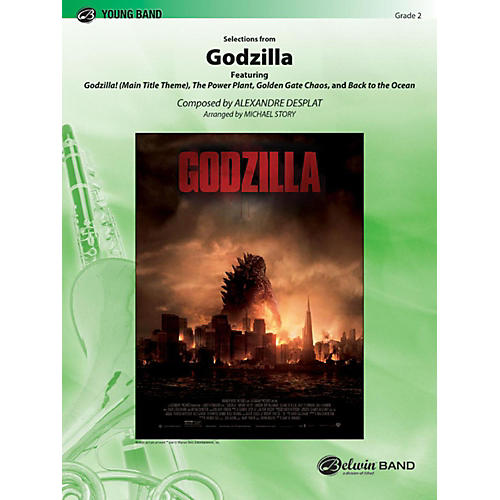 Alfred Godzilla, Selections from Concert Band Grade 2