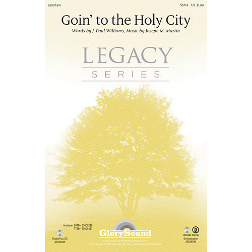 Shawnee Press Goin' to the Holy City SSAA composed by Joseph M. Martin