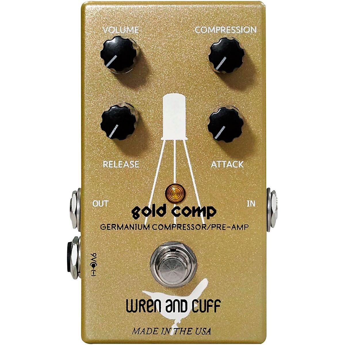 Wren And Cuff Gold Comp Germanium Compressor/Pre-Amp Effects Pedal