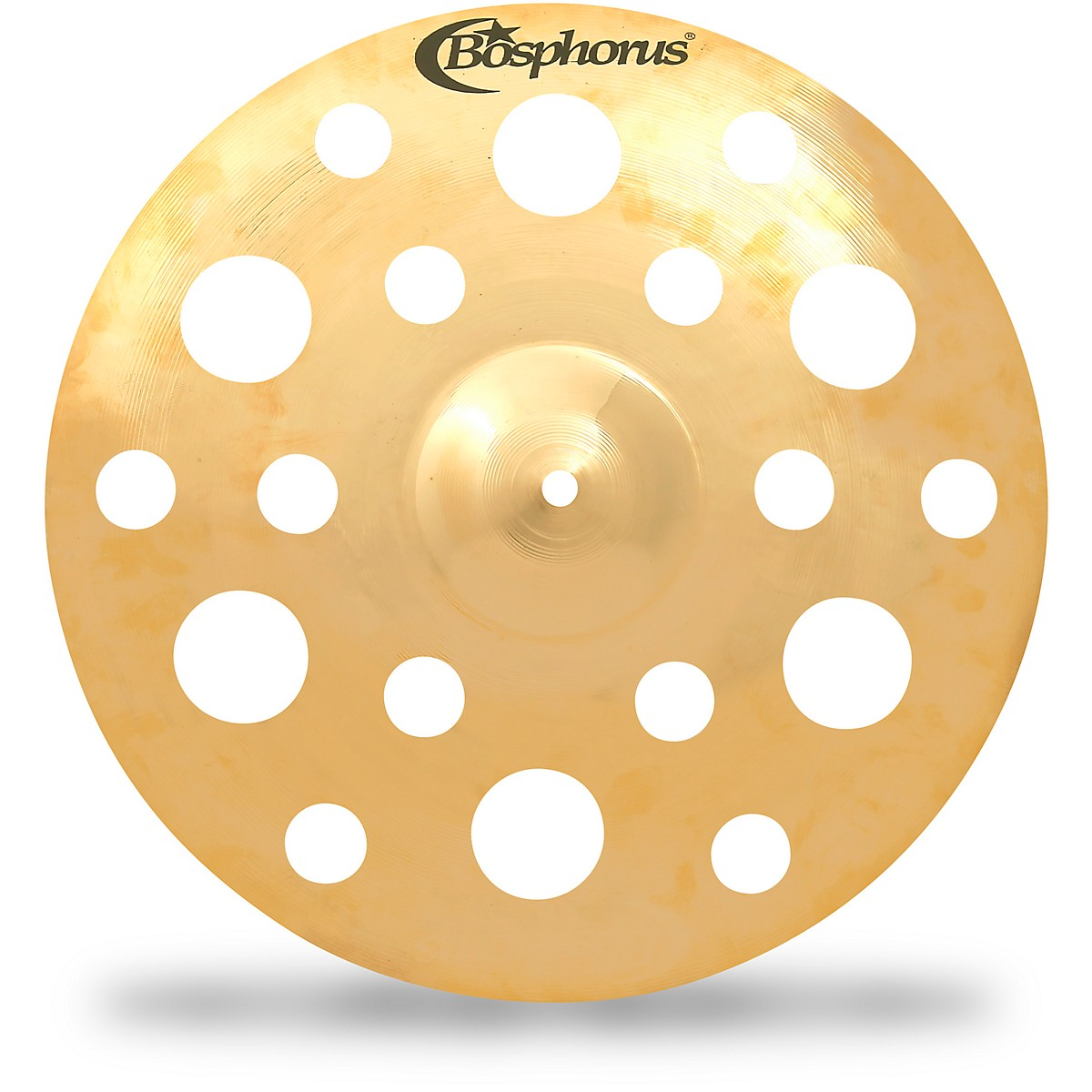 Bosphorus Cymbals Gold Fx Crash with 18 Holes