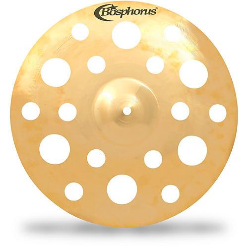 Bosphorus Cymbals Gold Fx Crash with 18 Holes