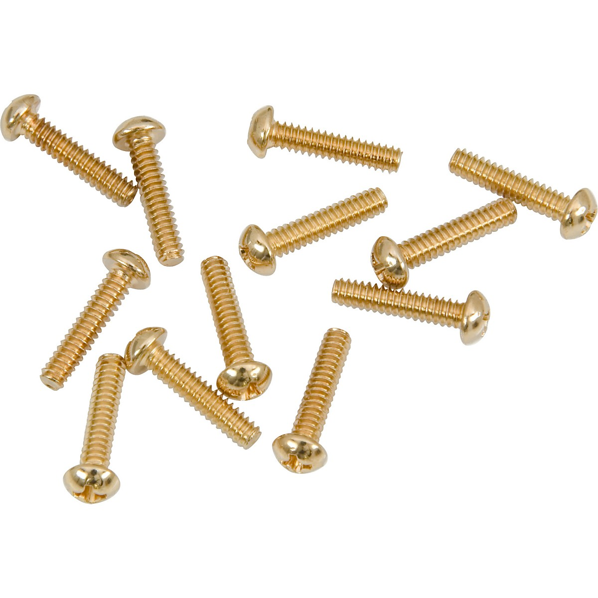 Fender Gold Pickup/Switch Screws (12)
