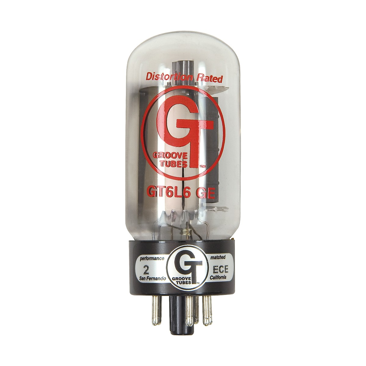 Groove Tubes Gold Series GT-6L6-GE Matched Power Tubes