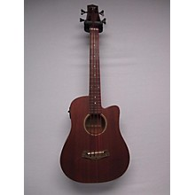 Gold Tone Gold Tone Micro Bass Fretless M-Bass FL Mahogany Acoustic Bass Guitar