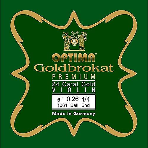 Optima Goldbrokat Premium 24K Gold Plated Steel Violin E String