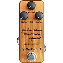One Control Golden Acorn Overdrive Special Effects Pedal