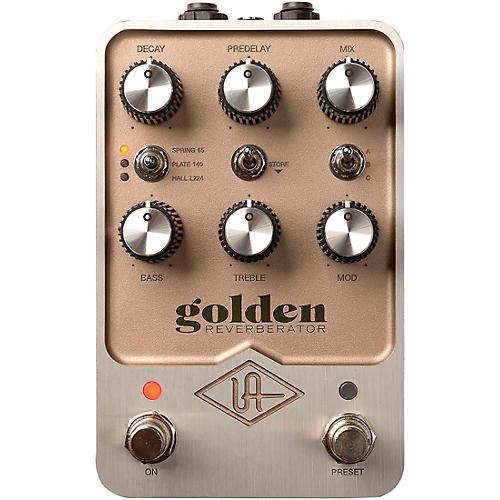 Universal Audio Golden Reverberator Effects Pedal
