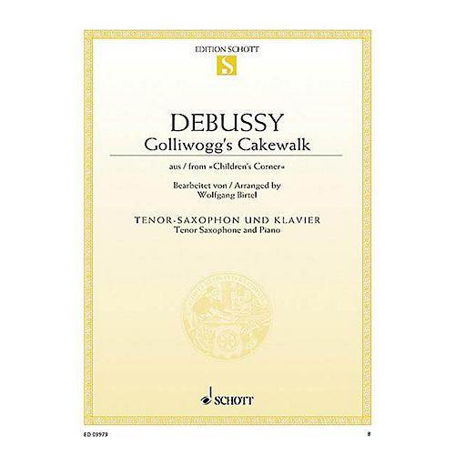 Schott Golliwogg's Cakewalk Woodwind Solo Series Book