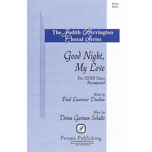 Pavane Good Night, My Love SSAA composed by Donna Gartman Schultz