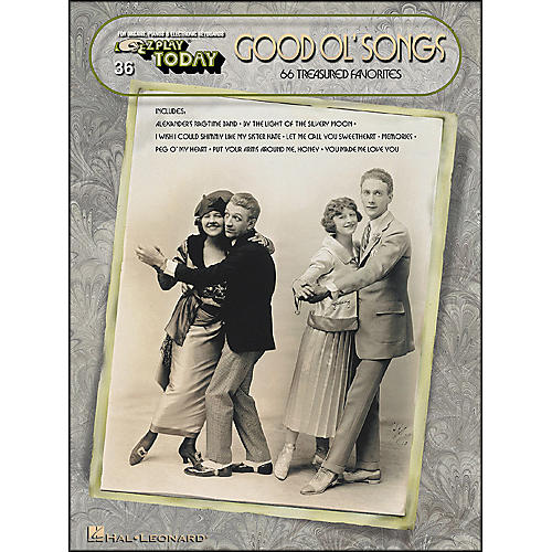 Hal Leonard Good Ol Songs (66 Treasured Favorites) E-Z Play 36