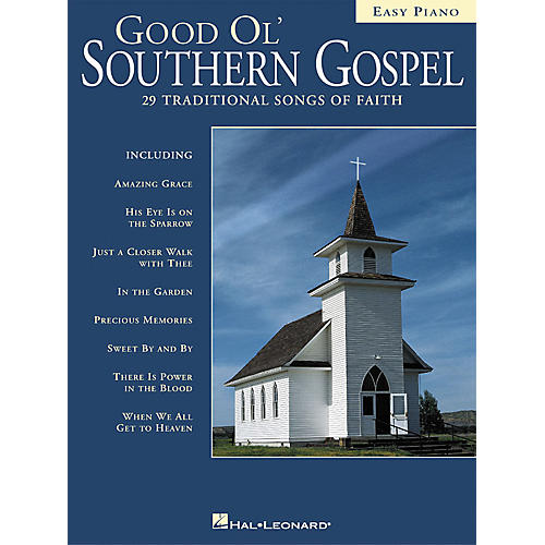 Hal Leonard Good Ol' Southern Gospel For Easy Piano