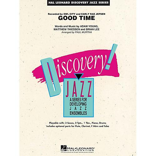 Hal Leonard Good Time Jazz Band Level 1.5 by Owl City Arranged by Paul Murtha