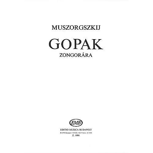 Editio Musica Budapest Gopak Piano EMB Series