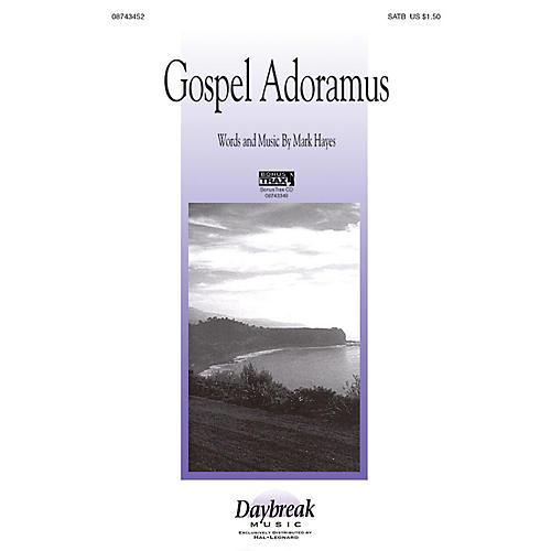 Hal Leonard Gospel Adoramus SATB composed by Mark Hayes
