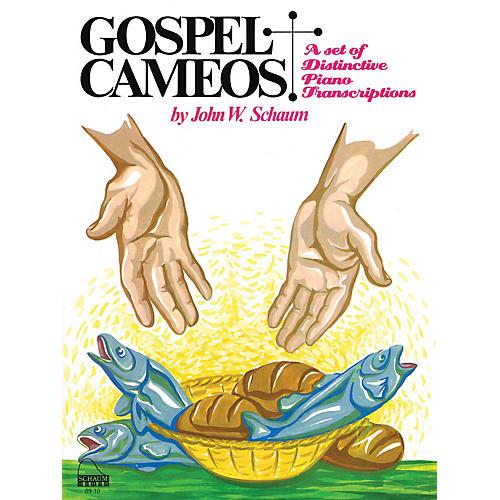 SCHAUM Gospel Cameos Educational Piano Series Softcover