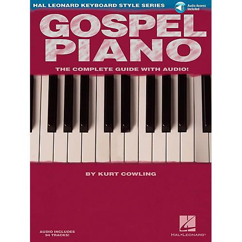 Hal Leonard Gospel Piano Book/Online Audio
