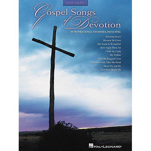 Hal Leonard Gospel Songs Of Devotion - 50 Inspirational Favorites For Easy Piano