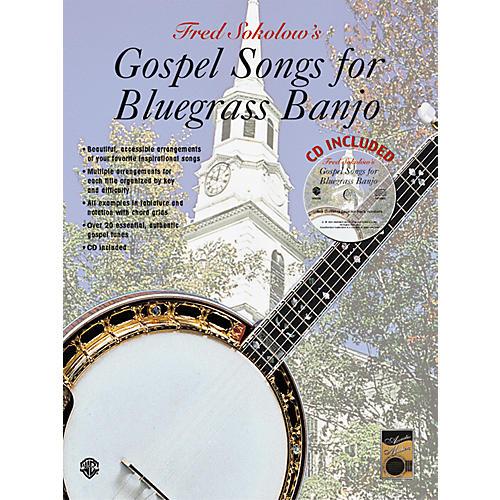 Alfred Gospel Songs for Bluegrass Banjo Tab Book