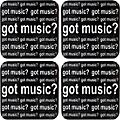 AIM Got Music Vinyl Coaster 4 Pack thumbnail