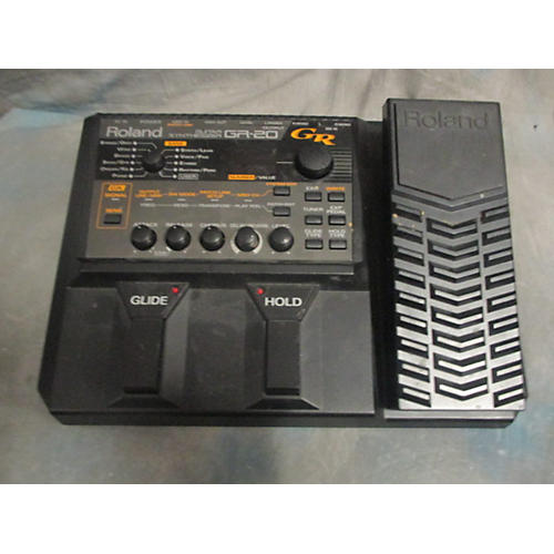 used roland gr20 guitar synth pedal effect pedal guitar center. Black Bedroom Furniture Sets. Home Design Ideas