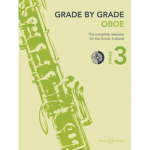 Boosey and Hawkes Grade by Grade - Oboe (Grade 3) Boosey & Hawkes Chamber Music Series BK/CD