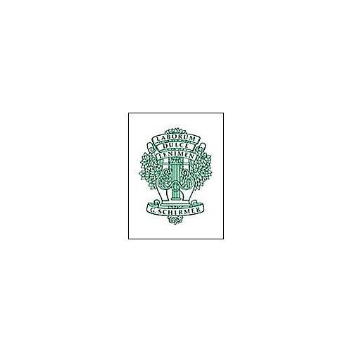 G. Schirmer Gradus Ad Parnassum Piano 29 Selected Studies By Clementi