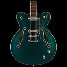 Duesenberg USA Gran Majesto Double Cutaway Semi-Hollow Electric Guitar Catalina Green