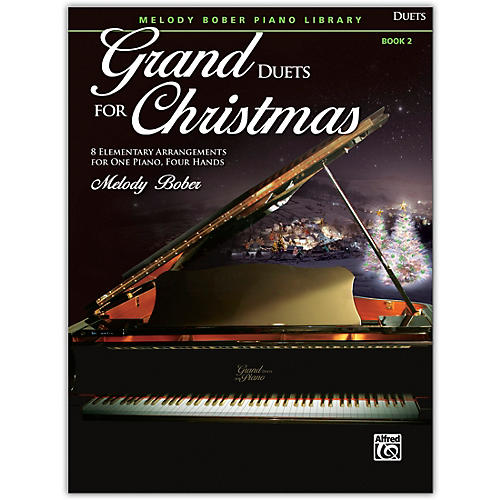 Alfred Grand Duets for Christmas, Book 2 Elementary