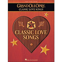 Hal Leonard Grand Ole Opry Classic Love Songs arranged for piano, vocal, and guitar (P/V/G)