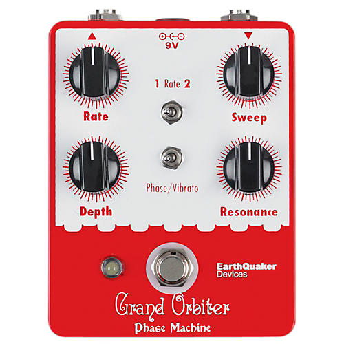 Earthquaker Devices Grand Orbiter Phase Machine Guitar Effects Pedal