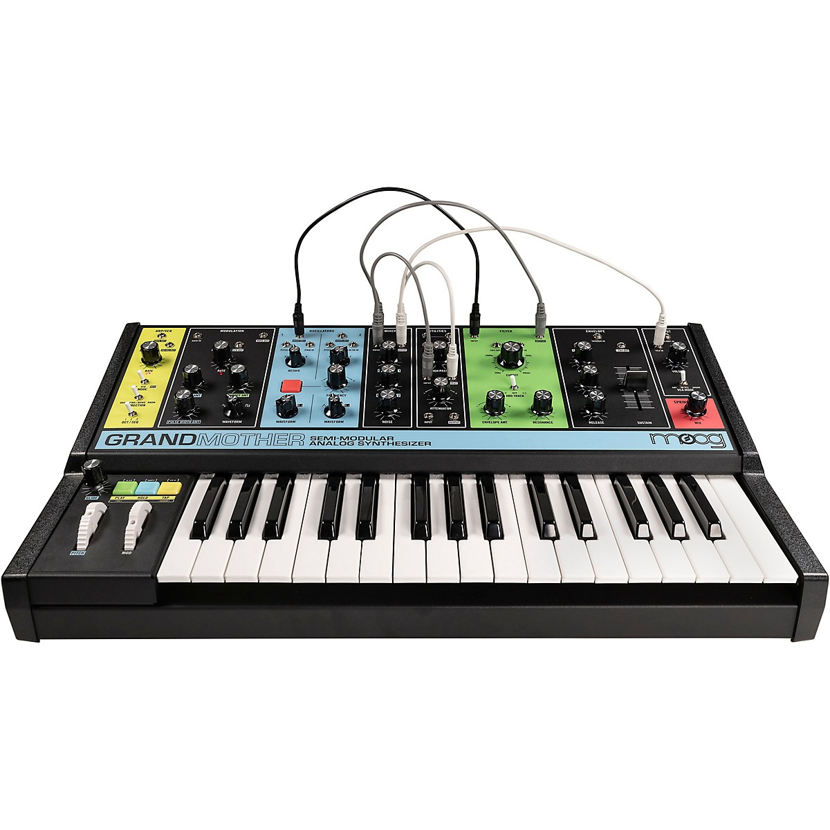 Moog Grandmother Semi-Modular Analog Synthesizer