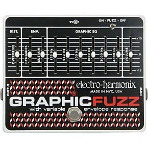 electro harmonix graphic fuzz xo fuzz guitar effects pedal guitar center. Black Bedroom Furniture Sets. Home Design Ideas