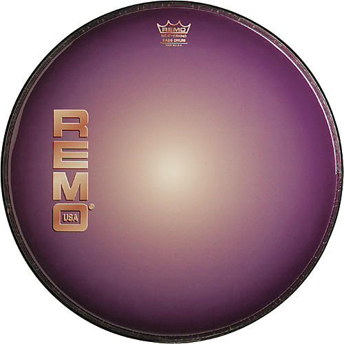 Remo Graphic Heads Purple Sunburst Resonant Bass Drum Head