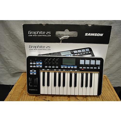 Samson Graphite 25 Key MIDI Controller