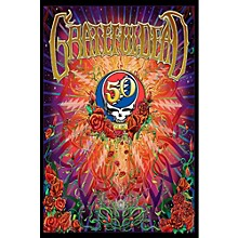 Hal Leonard Grateful Dead 50th Anniversary Wall Poster